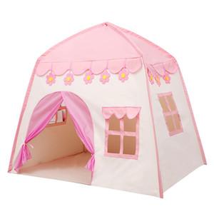 130см большая детская палатка Wigwam Складные Дети Палатки Детские игры Типи Детские Play House Детская комната