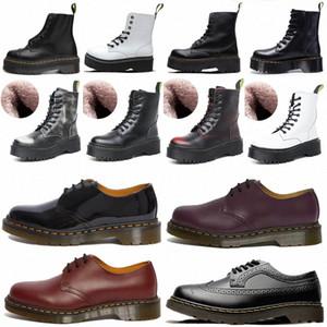 dr doc дизайнер 1460 Ankle 1461 платформа 2976 marten martens men mens women womens ZIP деталь мужчин мужские женские женские туфли меховые снежные сапоги Martin Martins Boot Boots