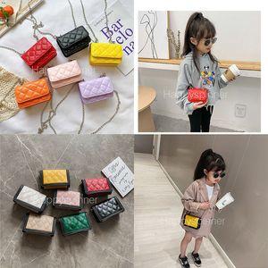 Fashion Retro Printed Letter PU Bag Inclined Cute Cross Small Square Mini Girl Birthday Gift