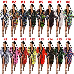 D9452 women's sexy loose pajamas home wear dress outerwear Nightgown