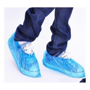 Доставка одноразовых оболочков для обуви пакет 100 шт. / Защитить свои ковры и полов Один размер подходит всем EV1RA