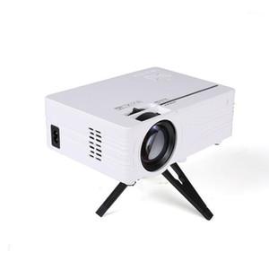 LED Video Mini Projector HD 1280x720P Portable Beamer Support Full HD 1080P VGA USB AV TF Card Same Screen Media Player US Plug1