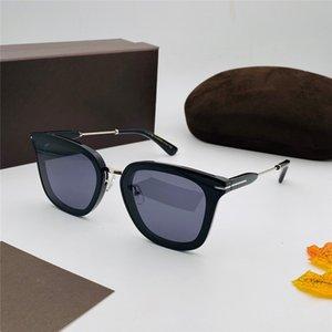 0726 mujeres de los hombres gafas de sol de estilo retro de moda y popular montura de la lente anti-ultravioleta Ronda hoja de alto grado marco de la caja de la alta calidad
