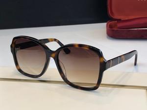 0765 النظارات الشمسية للنساء أزياء شعبية الصيف الاسلوب مع الأحجار أعلى جودة UV عدسة حماية تعال مع حالة 0765S