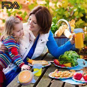 Кухня FDA Food Grade 6 Pack Bpa Free многоразовый Гибкая силиконовая Stretch Lids