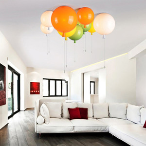 Colorful Balloon Ceiling Light modern fashion Acrylic bedroom light Kids Room lamp balcony bedside wall sconce