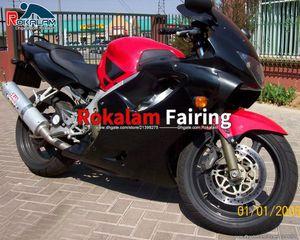 Siyah Kırmızı Fairing Kiti 99 00 Honda CBR600 F4 1999 2000 CBR 600 CBR600F CBR600F4 Sportbike Fairings (Enjeksiyon Kalıpları)