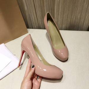 women High Heels Shoes Red Bottom ladies Dress Shoes hot sale Genuine Leather sexy womens shoes top quality with box