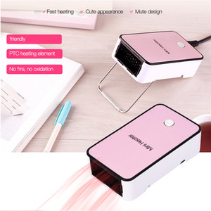 High Quality Portable Electric Heater Creative Lovely Handheld Mini Warm Air Blower Winter Indoor Office Desktop Air Fan Warmer