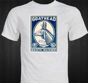 дизайнеры балахон Goathead Смешные Weird Vintage Matchbox Уникальный подарок для мужчин Смешные Юмористические футболки толстовка