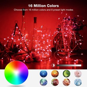 Xmas decorative supplies led twinkle light USB Bluetooth lamp string Mobile phone APP copper wire lamp string