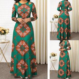 2020 vestito da estate sottile abito da donna Africaine Bazin moda etnico stampa abito da sera Ankara signore vestiti kanga vestiti africani