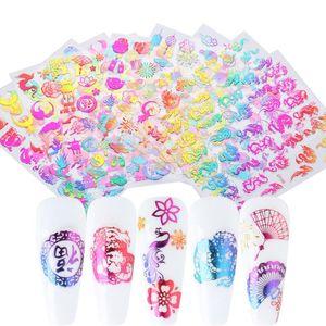 Draghi cinesi Capodanno Nail Sticker 5D autoadesive decalcomanie per la nail art Designs della decorazione di DIY Accessori NFDP385-396