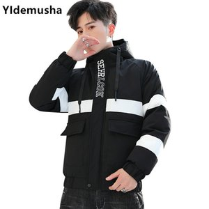 2020 New Winter Men's Coats Warm Thick Male Jackets Padded Casual Hooded Parkas Men Overcoats Mens Windbreaker Brand Clothing