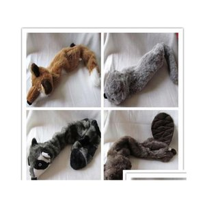 shipping high quality for fabric pet dog toy plush toy squeaker no suffing in body wild animal WXdbJ