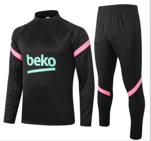 19/20/21 Olympique de Barcelona traje de entrenamiento de fútbol chándal maillot de pie chaqueta 20/21 PAYET THAUVIN OM fútbol chándal de jogging A1