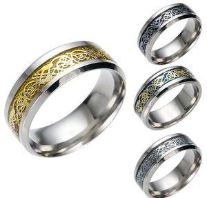Pattern Ring Wedding Band Rings for Women Men Lovers Wedding Ring Drop Shipping