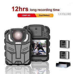 1296 P UHD Vücut Kamera 2 inç Ekran, Gece Görüş, Dock Şarj Cihazı ile Çift Pil Vücudu, 1
