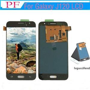 Para Samsung Galaxy J120 J120 2016 J1 J120F J120H J120M pantalla LCD de pantalla táctil de la pantalla LCD digitalizador Asamblea para Samsung J120