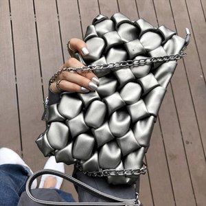 Women Envelope Clutch Bag 3D diamond Party Evening Bags lady Leather Ladies Shoulder messenger Bag small Female Clutches Purse