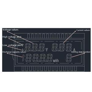 شاشة LCD مصغرة الإبداعية الهاتف usb تستر المحمولة الطبيب الجهد الحالي متر المحمول powe wmtgrl home2011