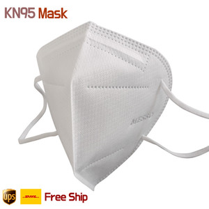 KN95 Face Mask Certificato 5 Layer Anti-FOG Anti Spit SSS traspirante + Soft Filter Efficienza del filtro non tessuto 95% PM2.5 Confezione individuale (Adulti)