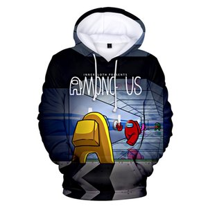 2020 Among Us NEW Hoodie Sweatshirts Autumn Winter Hoodies Fashion Harajuku Tracksuit 3D Print Men Women boys Pullover X1022
