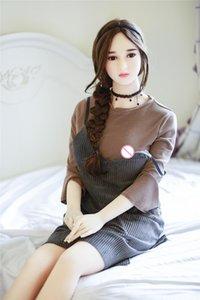 165cm sexo realista del pecho de silicona para el japonés Muñeca realista para adultos muñecas atractivas real de los hombres de la vagina juguetes grandes Uevld