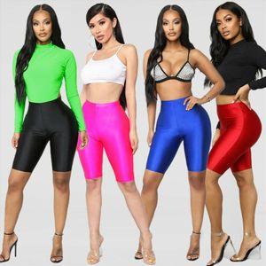 Women Cycling Shorts Dancing Gym Biker Slim Active Sports Solid Sexy Skinny 2019 New Summer Drop Shipping