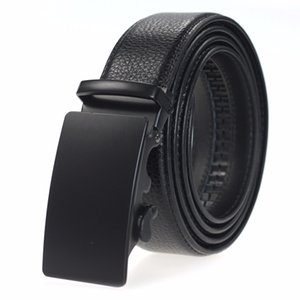 Hongmioo Mens Belts Luxury Genuine Leather High Grade Automatic Alloy Buckle Casual Cowather Belt Business Vintage Design