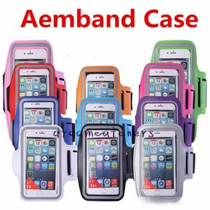 For Iphone 7 Plus Waterproof Sports Running Armband Case Workout Armband Holder Ponch Arm Bag Band for Samsung S7 S6 Edge iphone 7 6s