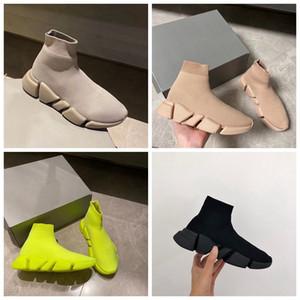 Çorap Ayakkabı Hız 2.0 Erkekler Rasgele ayakkabı Lüks Tasarımcı Sneakers Çorap Ayakkabı 2.0 Lace Up Yürüyüş Ayakkabı Hız 2.0 Yeni Renkler