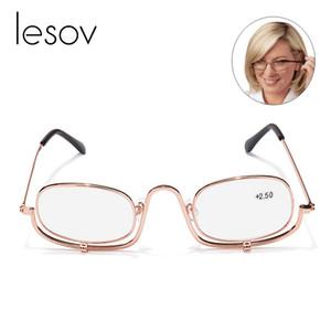 Lesov plegable maquillaje espectáculos de ojos flip down lente lentitud lentes de lectura + 1.5, + 2.0, + 2.5, + 3.0, + 4.0 Nuevo