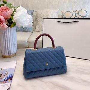 Piccole Donne Flap Bag con top manico A Designer Borse Donne Grained pelle di vitello superiore qualità formale Borse di lusso Dress Crossbody Bag