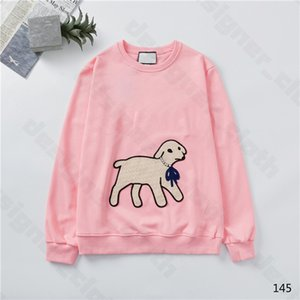 New Arival 20ss Womens Designer Hoodies Fashion Lamb Animal Autumn Winter Mens Long Sleeve Hoodie Pullover Clothes Sweatshirts