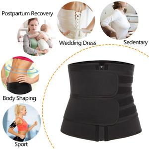 20 Women girls Hot Sweat Waist Trainer Slimmer Trimmer Zip Belt Body Shaper shapers Workout Solid Belts Shaperwear Plus Size gifts