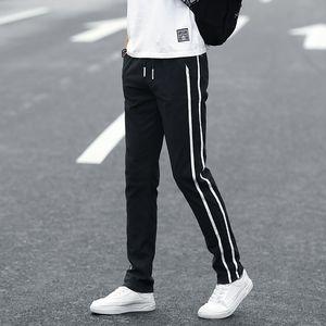 Pantaloni da uomo Binhiiro Summer Pantaloni sottili sezione traspirante comodo pantaloni casual uomo sottile cotone misto jogging pantaloni sportivi maschio k60 201116