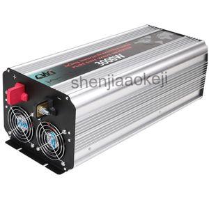 순수한 사인 지능형 태양 광 인버터 디지털 디스플레이 합금 AC 110V 220V 알루미늄 DC12V ~ 24V 인버터 태양열 웨이브