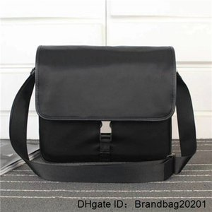 Global free shipping 166 size 30cm 28cm 12cm classic luxury canvas leather cowhide men's shoulder bag best quality handbag 1