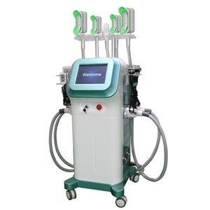 New arrived Fat Freezing Machine 5 handles together working with double chin reduce handles Cryolipolysis 360 Degrees Cryo Machine