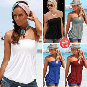 Shoulder Strapless Female White Shirt 2020 Size Summer Off Beach Women T Shirt T Tops Clothing Tops Plus Sexy Casual Ilkra