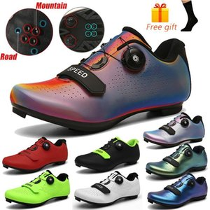Professional Spd Cycling Shoes Mtb Sneakers Men Self -Locking Mountain Bicycle Shoes Women Road Bike Outdoor Athletic with logo