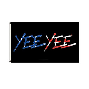 American Yee Yee Outdoor-Flaggen Banner 3x5ft 100d Polyester 150x90cm Hochwertige Farbe mit zwei Messing-Tüllen
