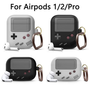 Silicone Earphone Case For Airpods 1 2 Protective Case For airpods Pro 3 Wireless Bluetooth 3D Game Console Shockproof Cover