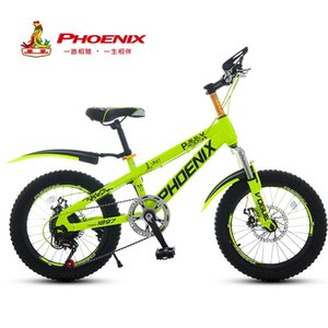 wholesale 2019 Brand Bicycle 20 inch Boys and Girls Children's Students Kids Bicycles 7 speed High-Carbon Steel Sport Cycling Bike