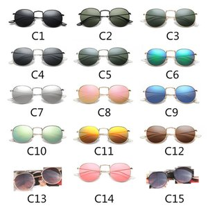 Frauen Luxus Designer Sonnenbrille Mode Steampunk Sonnenbrille Frauen Metallrahmen Doppelbrücke Designer Sonnenbrille UV400 Objektiv 3447