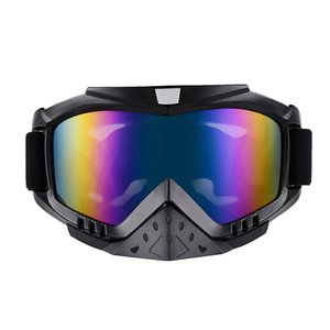 NEW off-road helmet goggles ski riding glasses wind Racing