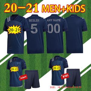 2020 Sporting Kansas City Soccer Jersey 20/21 # 9 Pulido # 11 Shelton Russell Maillot De Foot # 17 Kinda футболки