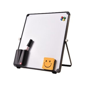Erasable Magnetic Whiteboard Desktop Message Board Reusable Stand Kid Mini Easel A9LC 201116