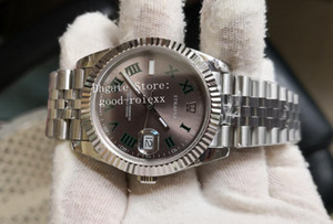 18 Estilo 41mm Mens Roman Wimbledon Automatic Ásia BP Factory Watch Data Jubileu Pulseira 126300 Relógios Homens 126334 Apenas Cristal Relógios de Pulso